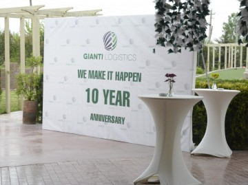 GIANTI LOGISTICS' 10TH ANNIVERSARY PARTY